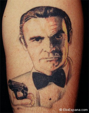 James Bond Tattoo 007